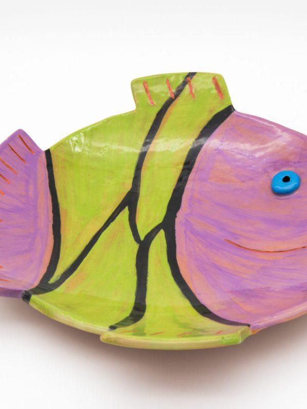Διακοσμητική πιατέλα σε σχήμα ψαριού